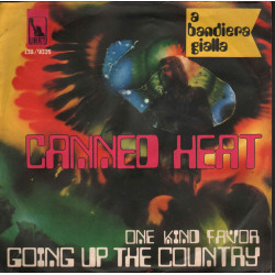 "Canned Heat ‎Vinile 7"" 45 giri On The Road Again / Boogie Music - Liberty ‎Nuovo"