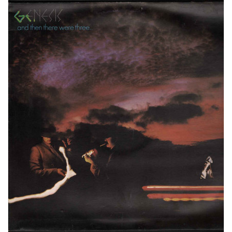 Genesis Lp Vinile And Then There Were Three / Charisma 9124 023 Gatefold Nuovo