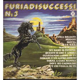 AA.VV. Lp Vinile Furia Di Successi N. 3 / Quadrifoglio VDS 9467 Nuovo