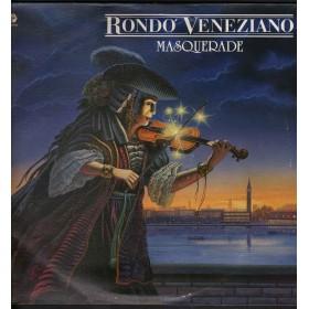 Rondo' Veneziano Lp Vinile Masquerade / Baby Records BR 56122 Nuovo