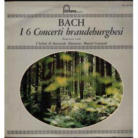 I solisti Di Stoccarda M Couraud  Bach I 6 Concerti Branbdeburghesi 