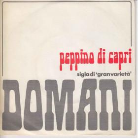 Peppino Di Capri 45 Giri Domani / Finale Scontato Splash!.. SPH 1018
