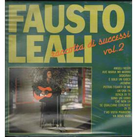 Fausto Leali LP Vinile Raccolta Di Successi Vol 2 / Ricordi ORL 8529 Sigillato