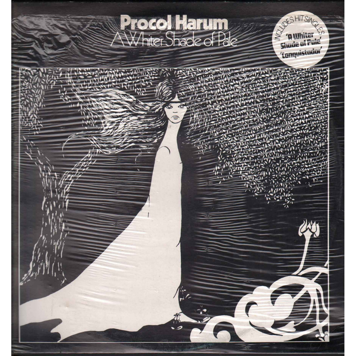 Procol Harum ‎- A Whiter Shade Of Pale / Ricordi ORL 8811