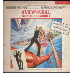 John Barry ‎Lp Vinile A View To A Kill - OST / Parlophone ‎64 2403491 Nuovo