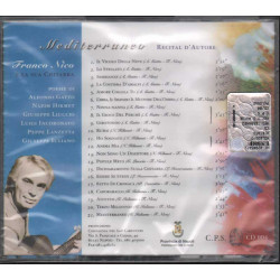Franco Nico CD Mediterraneo - Recital D'Autore Nuovo Sigillato