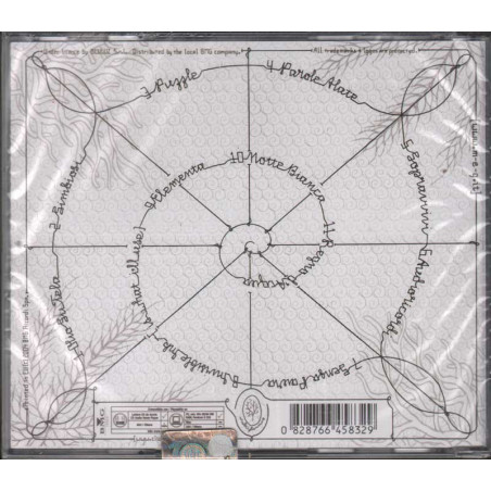 Meg (ex 99 Posse) CD Meg (Omonimo) Nuovo Sigillato  0828766458329