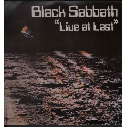 Black Sabbath - Live At Last / NEMS ‎BS 001 5013428080016