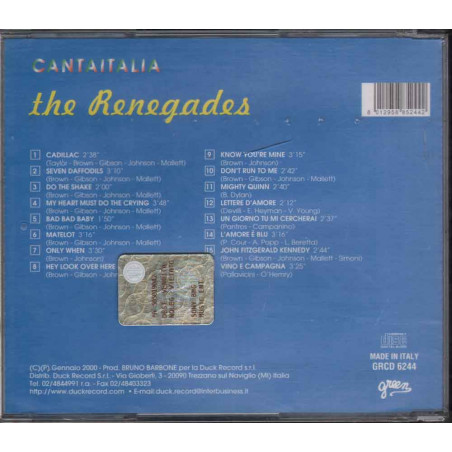 The Renegades CD The Best Nuovo 8012958852442