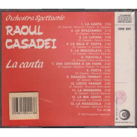 Orchestra Spettacolo Casadei CD La Canta Nuovo Sigillato 8003614011136