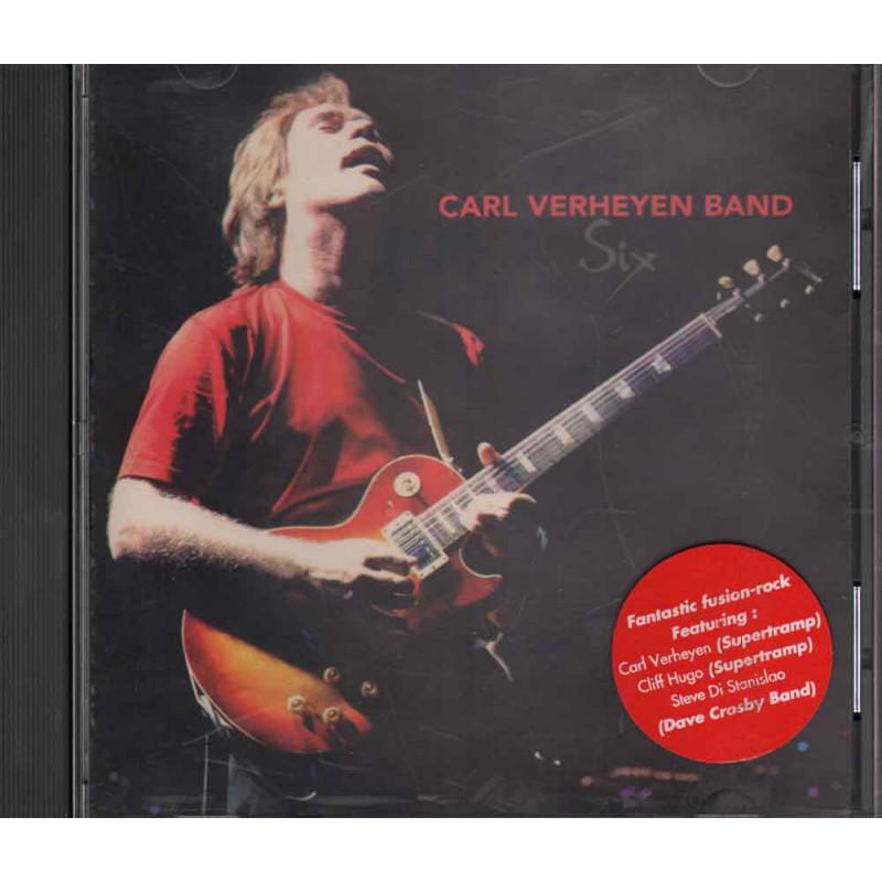 Carl Verheyen Band CD Six Nuovo 8712725713920