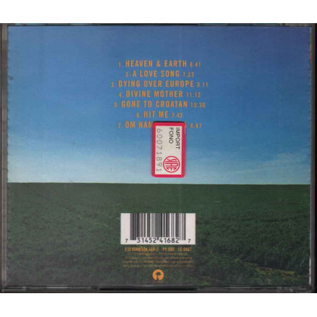 Jah Wobble  CD Heaven & Earth Nuovo 0731452416827