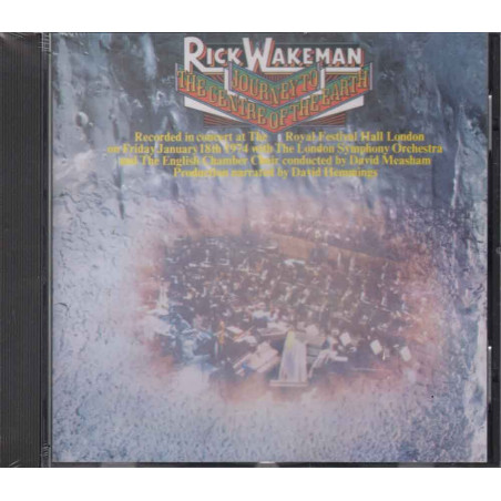 Rick Wakeman  CD Journey To The Centre Of The Earth  Sigillato 0082839362122