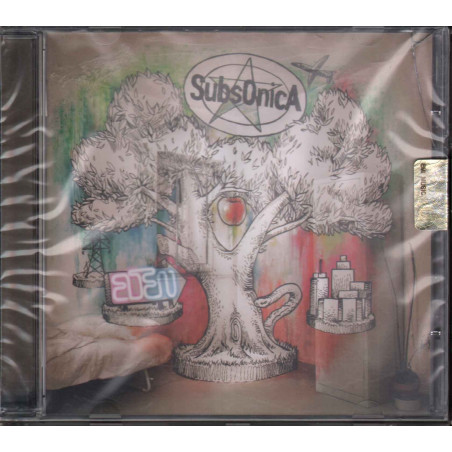 Subsonica CD Eden / EMI - Virgin Sigillato 5099909742925