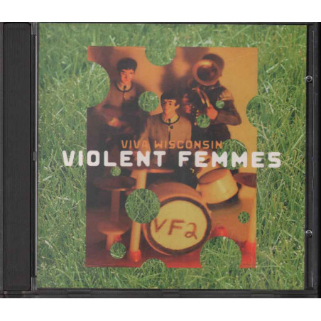 Violent Femmes CD Viva Wisconsin (Live) S4 Nuovo 5099749667327