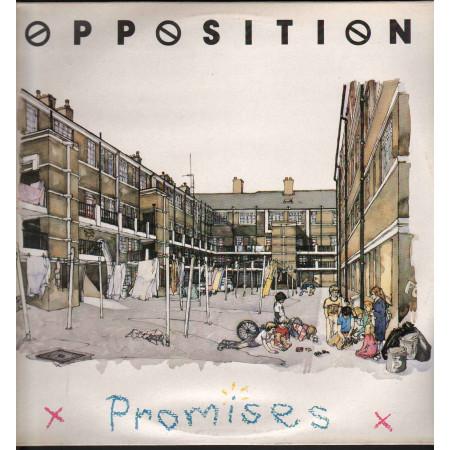 Opposition Lp Vinile Promises / Virgin OPLP 1 Nuovo