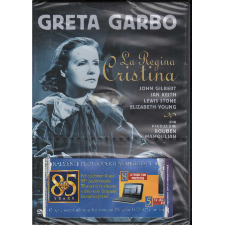 La Regina Cristina DVD Greta Garbo / John Gilbert Warner Sigillato 7321958673874