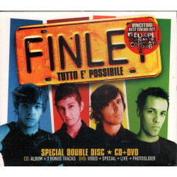 Finley CD Tutto E' Possibile Special Edition / EMI Sigillato 0094637018026