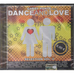 Gabry Ponte CD Dance Selection Vol II (2) ‎Sigillato 8034077240399