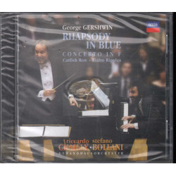 S Bollani / R Chailly CD Rapsodia in Blue - Gershwin SigIllato 0028947639220