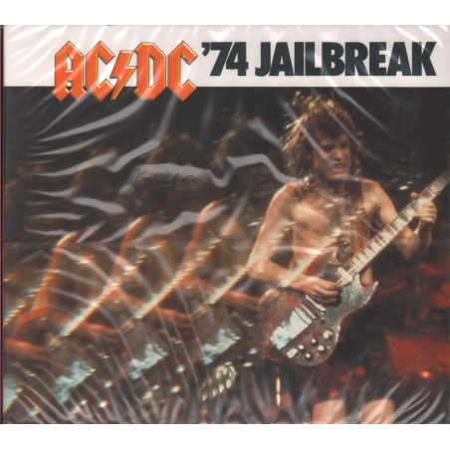 AC/DC CD '74 Jailbreak Digipack / Epic Sigillato 5099751075820