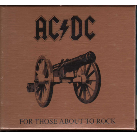 AC/DC CD For Those About To Rock Fan Pack Limited Edition / Columbia Sigillato