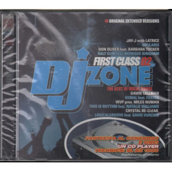 AA.VV. CD DJ Zone - First Class 02 / Time Records ‎Sigillato 8019991260937