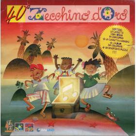 AA.VV 2x MC7 + Puzzle + libro 40° Zecchino D'Oro / EMI - 8 23814 4 Sigillata