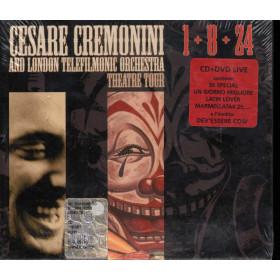 Cesare Cremonini CD DVD 1+8+24 Theatre Tour / PibeDeOro Sigillato 5051011832925