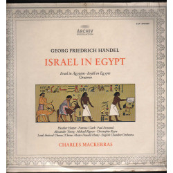 Georg Friedrich Hsndel - Israel In Egypt / Archiv ‎2708 020