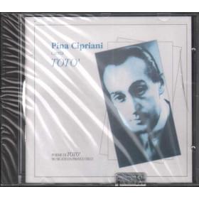 Pina Cipriani CD Pina Cipriani Canta Toto' / C.P.S. Sigillato