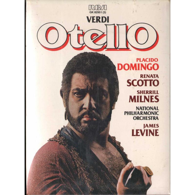 Verdi, Domingo, Scotto, Milnes, Levine MC7 Otello / RCA GK 82951 Sigillata