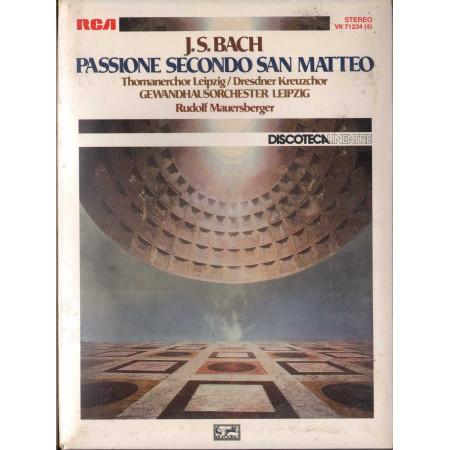 J.S. Bach MC7 Passione Secondo San Matteo / RCA VK 71234 Sigillata