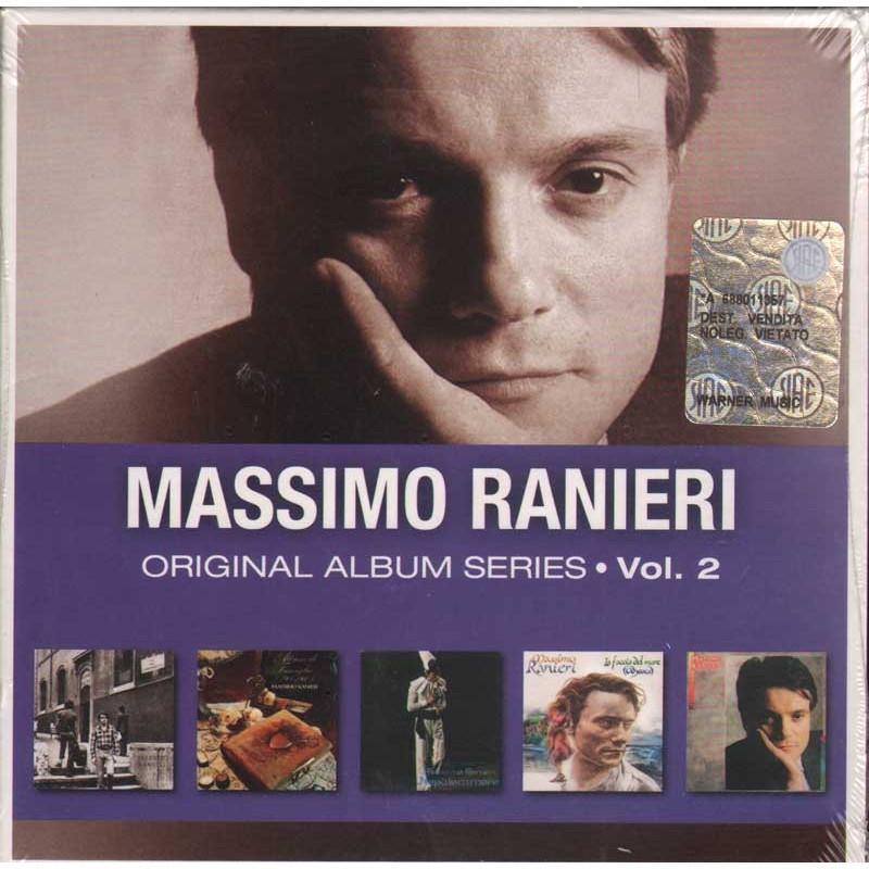 Massimo Ranieri Box 5 CD Original Album Series Vol 2 5052498414253