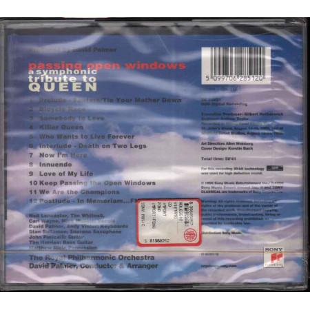 David Palmer  CD Passing Open Windows - A Symphonic Tribute To Queen Sigillato
