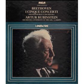 Beethoven, Rubinstein 5 MC7 I Cinque Concerti Per Pianoforte E Orchestra GK42746