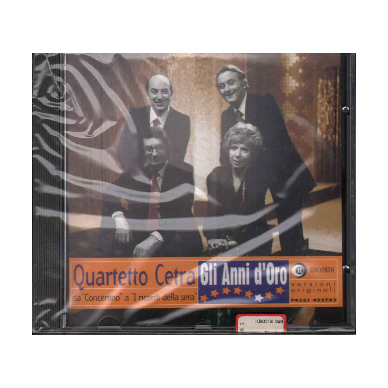 Quartetto Cetra CD Gli Anni D'Oro - BMG Nuovo Sigilatto 0743214557822