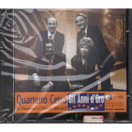 Quartetto Cetra CD Gli Anni D'Oro / BMG Ricordi Sigilatto 0743214557822