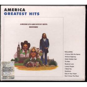 America CD History America's Greatest Hits / Warner Bros Slipcase Sigillato