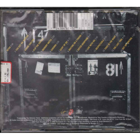 The Rolling Stones CD No Security Nuovo Sigillato 0724384674021