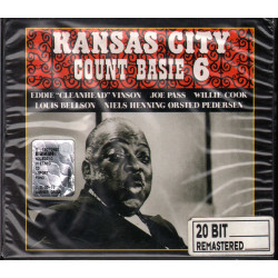 Count Basie 6 ‎CD Digipack Kansas City / Pablo Records ‎0090204820368