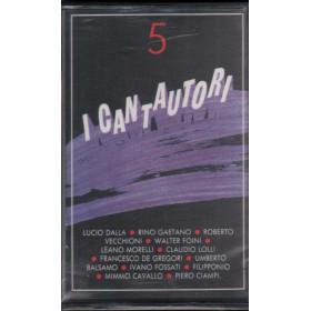 AA.VV MC7 I Cantautori Vol. 5 / Fonit Cetra - WK 74026 Sigillata 0035627402647
