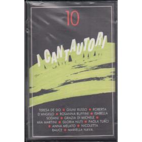 AA.VV MC7 I Cantautori Vol. 10 / Fonit Cetra - WK 74031 Sigillata 0035627403149