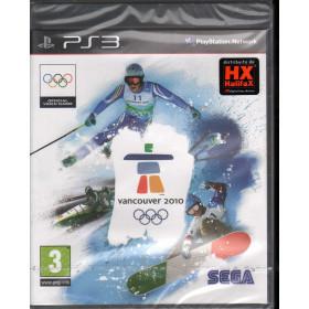 Vancouver 2010 Videogioco Playstation 3 PS3 Sigillato 5055277001811