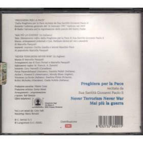 Giovanni Paolo II  CD Never Terrorism Never War Nuovo 8032732380015