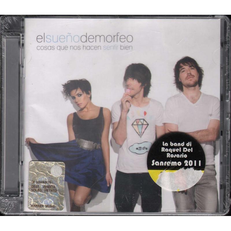 El Sueno De Morfeo CD Cosas Que Nos Hacen Sentir Bien Sigillato 0825646894000