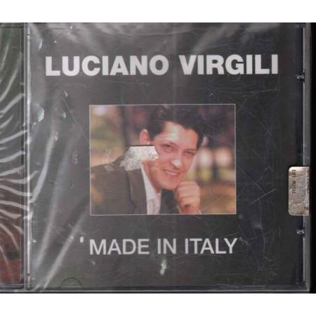 Luciano Virgili  CD  Made In Italy   Nuovo Sigillato 0724359822228