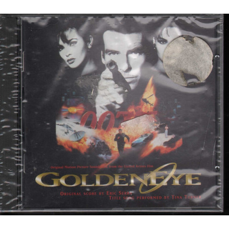 Eric Serra / Tina Turner CD Goldeneye OST Soundtrack EMI Sigillato 0724384104825