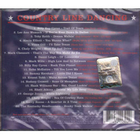 AA.VV.  CD Country Linedancing Nuovo Sigillato 0731454443029