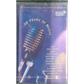 AA.VV MC7 20 Years Of Music / Col 485329 4  Sigillata 5099748532947